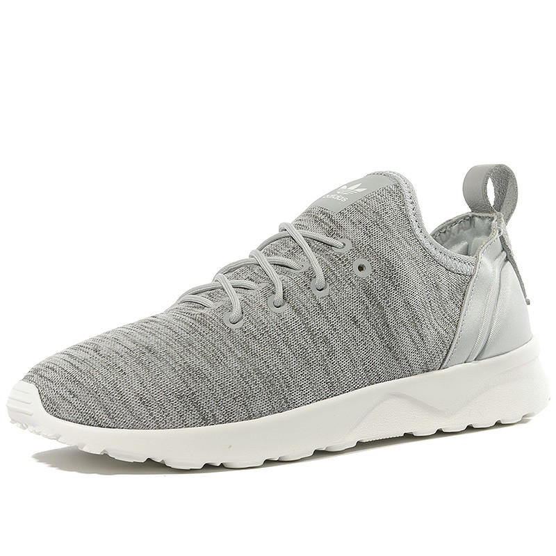 Chaussures ZX Flux ADV Virtue Socks Gris Femme Adidas
