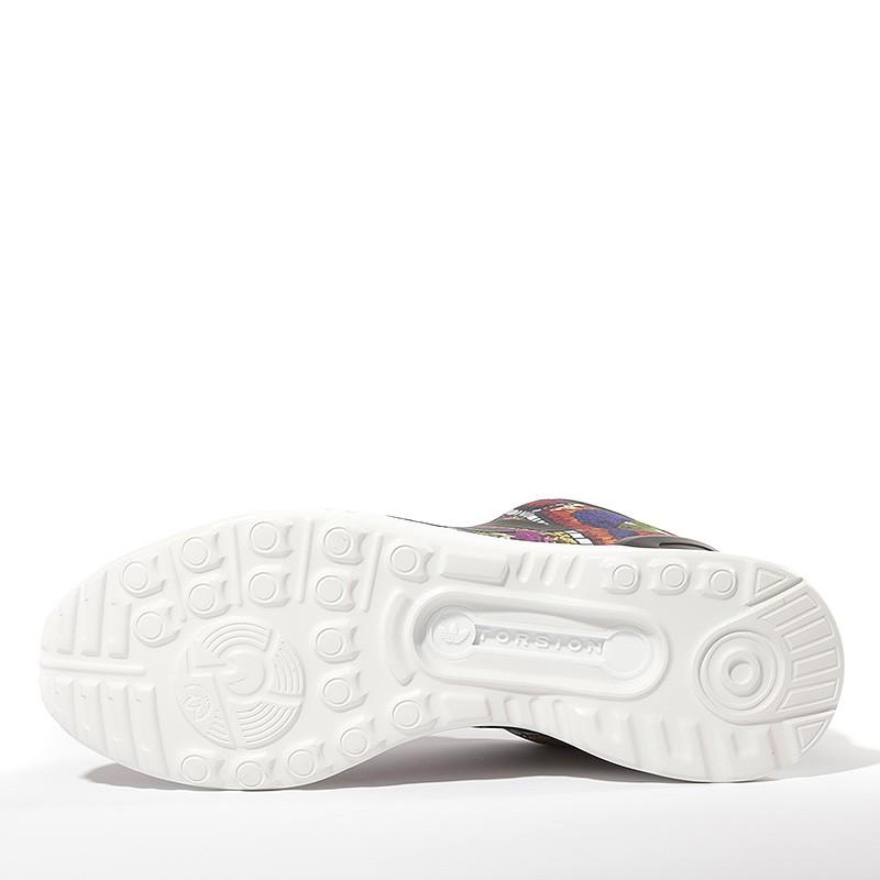Chaussures ZX Flux ADV Smooth Noir Femme Adidas moD7p8P