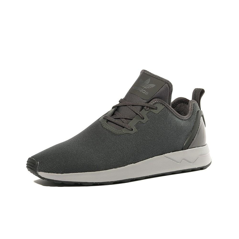 Détails sur Chaussures ZX Flux ADV Asymétrical Gris Homme Adidas Gris