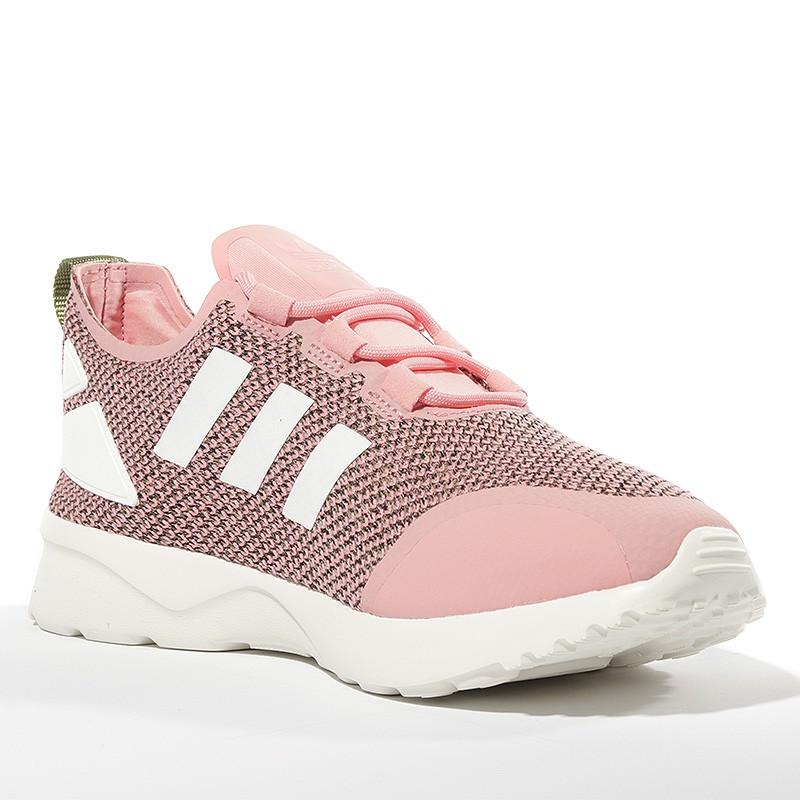 grand choix de 0d011 60d19 Chaussures ZX Flux ADV Verve Rose Femme Adidas