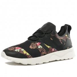 Chaussures ZX Flux ADV Smooth Noir Femme Adidas