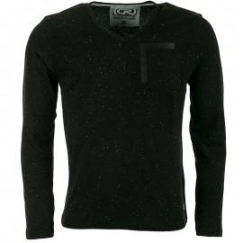 Tee-shirt Gaby Noir Homme Crossby