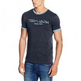 Tee-shirt Ticlass Marine Homme Teddy Smith