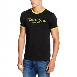 Tee-shirt Ticlass Noir Homme Teddy Smith