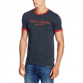 Tee-shirt Ticlass 3 Marine Homme Teddy Smith