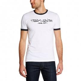 Tee-shirt Ticlass 3  Blanc Homme Teddy Smith