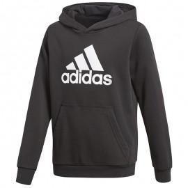 Sweat Logo Noir Garçon Adidas