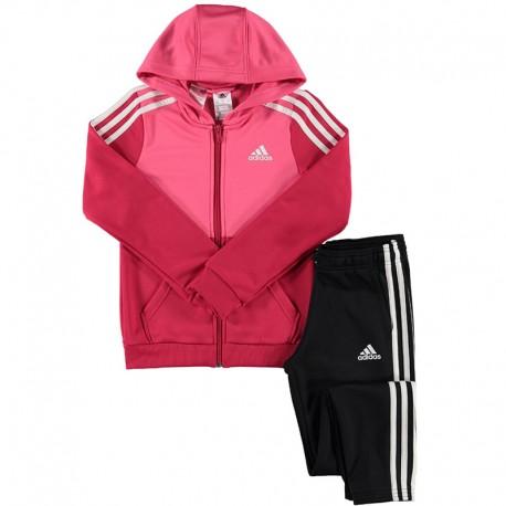 luxe éclatant style moderne Survêtement Fille Rose Adidas