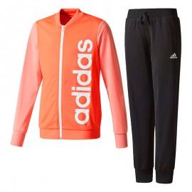 Survêtement Fille Corail Adidas