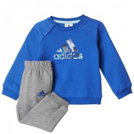 Survêtement Bleu Bébé Garçon Adidas