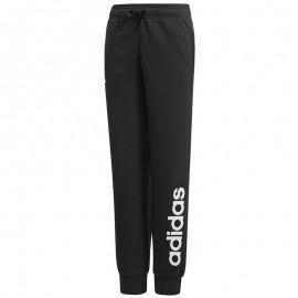 Pantalon Linear Noir Fille Adidas