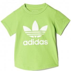 Tee Shirt Réactif aux Uv Vert Bébé Garçon Adidas