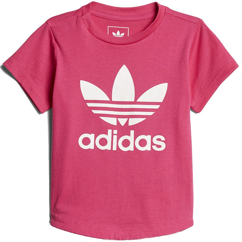 Tee Shirt Réactif aux Uv Rose Bébé Fille Adidas