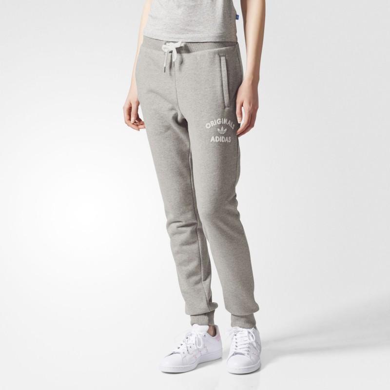 pantalon sweat gris femme adidas. Black Bedroom Furniture Sets. Home Design Ideas