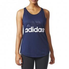 Débardeur Entrainement Marine Femme Adidas