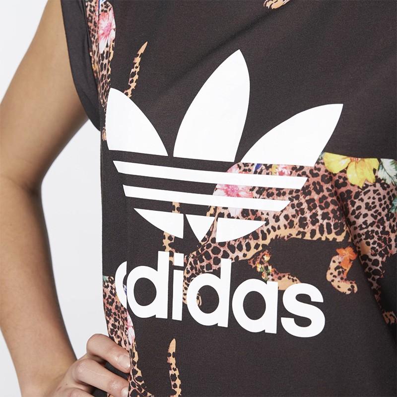 Tee shirt Oncada Noir Femme Adidas