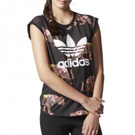 Tee-shirt Oncada Noir Femme Adidas