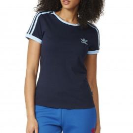 Tee-shirt Sandra 1977 Marine Femme Adidas