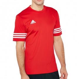 Tee-shirt Entrada 14 Football Rouge Homme Adidas