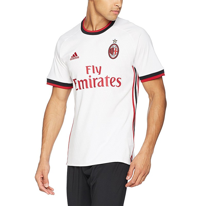 Maillot Milan Ac Football Blanc Homme Adidas