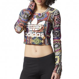 Tee-shirt Chrochita Noir Femme Adidas