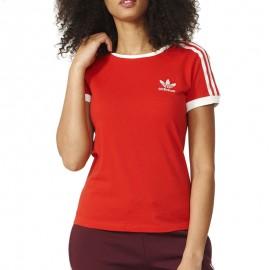 Tee-shirt Sandra 1977 Rouge Femme Adidas