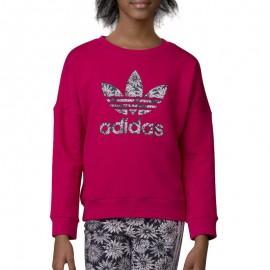 Sweat Trefoil Rose Fille Adidas
