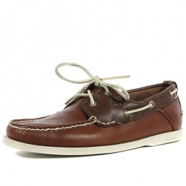 Chaussures Heritage 2-Eye Boat Marron Homme Timberland