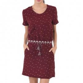 Robe Balsa Bordeaux Femme Kaporal
