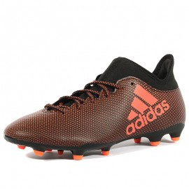 Chaussures X 17.3 FG Rouge Football Homme Adidas