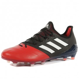 Chaussures X 17.1 Leather FG Noir Football Homme Adidas