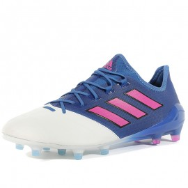 Chaussures Ace 17.1 Leather FG Bleu Football Homme Adidas
