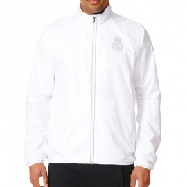 Veste réfléchissante Real Madrid Football Blanc Homme Adidas