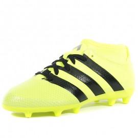 Chaussures Ace 16.3 Primemesh FG/AG Jaune Football Garçon Adidas