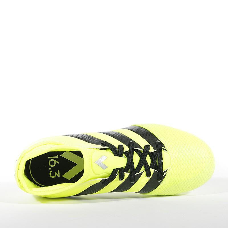 Chaussures Ace 16.3 Primemesh FGAG Jaune Football Garçon Adidas