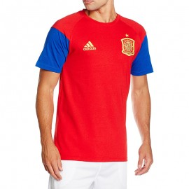 Tee-shirt Espagne Football Rouge Homme Adidas