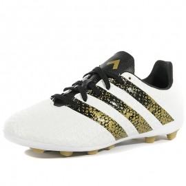 Chaussures Ace 16.4 FxG Blanc Football Garçon Adidas