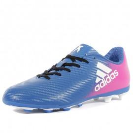 Chaussures X 16.4 FxG Bleu Football Garçon Adidas