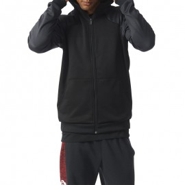 Sweat Polaire D. Rose Basketball Noir Homme Adidas