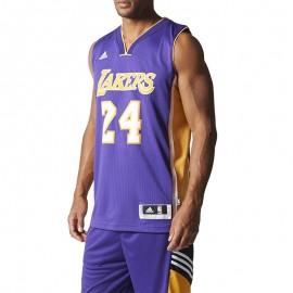 Maillot Swingman K. Bryant LA Lakers Basketball Violet Homme Adidas