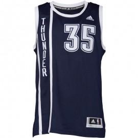 Maillot Swingman K. Durant O.C. Thunder Basketball Marine Homme Adidas