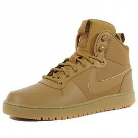 Chaussures Nikecourt Borough Mid Marron Homme Nike