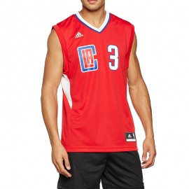 Maillot Replica C. Paul L.A. Clippers Basketball Rouge Homme Adidas