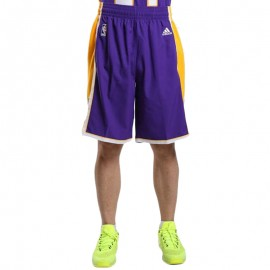Short Swingman L.A. Lakers Jaune Basketball Homme Adidas