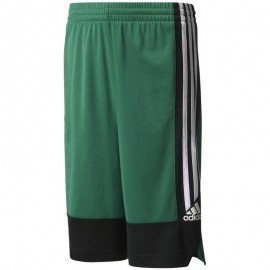 Short Commander Basketball Vert Garçon Adidas