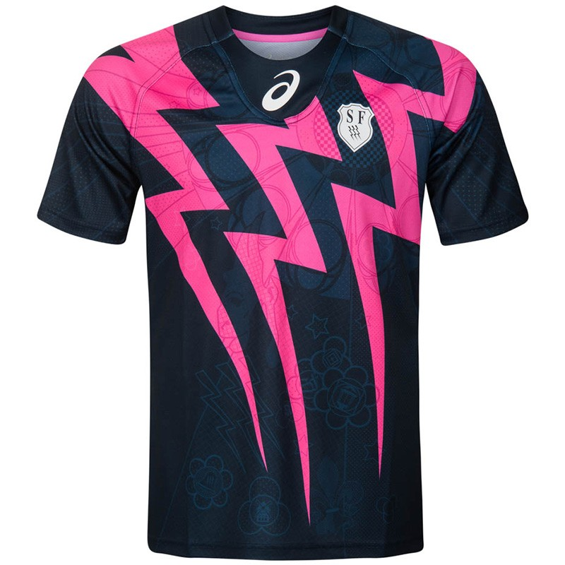 Français Marine Maillot Homme Adidas Rugby Stade xFqtwYBp