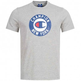 Tee-shirt Gris Homme Champion