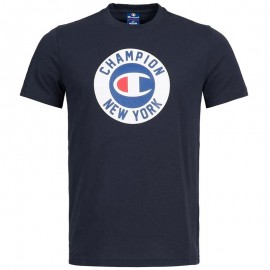 Tee-shirt Marine Homme Champion