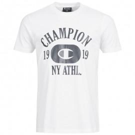 Tee-shirt Clifton Blanc Homme Champion