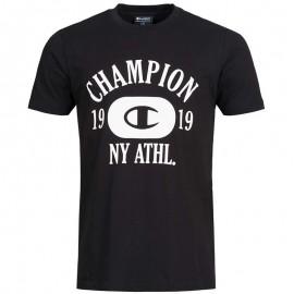 Tee-shirt Clifton Noir Homme Champion